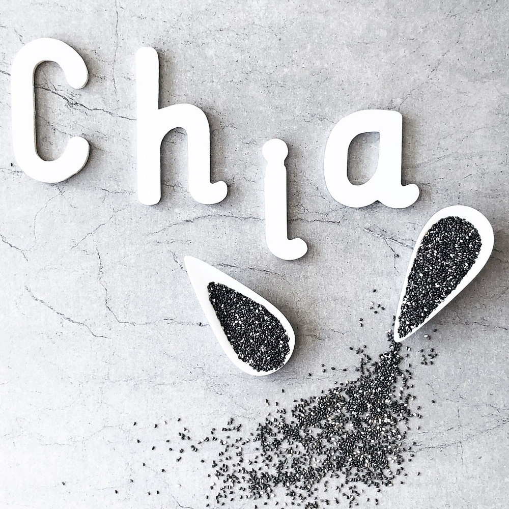 Chia Seed Powerhouse Food Comparison