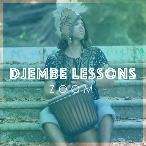 Zoom Djembe Lesson