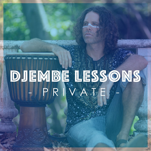 Private Djembe Lesson