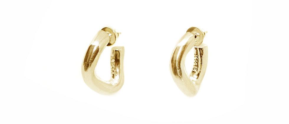 Sasha Hoop Earring Gold