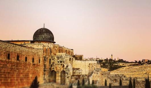 Mount Moryah, Old Jerusalem