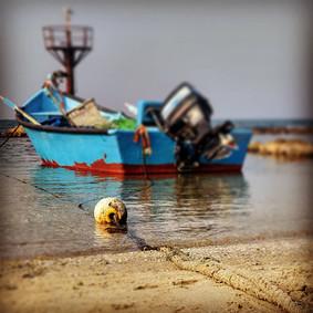 Fishing Boat, Jisr a Zarqa, Haifa Distri