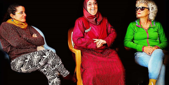 Multi-Faith tour - Ibtisam Mahamid, Fara