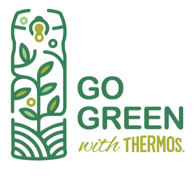 Go green with thermos