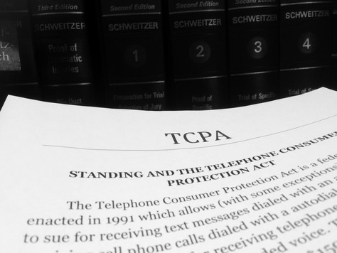 Standing and the Telephone Consumer Protection Act