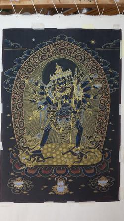 chakrasamvara à 12 bras