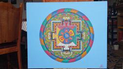Mandala de Tchenrezi