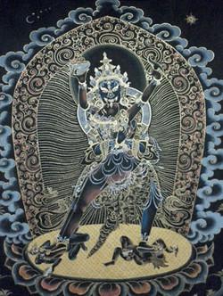 Chakrasamvara à 2 bras
