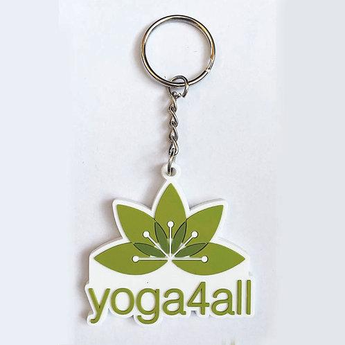 Yoga4all Keyring