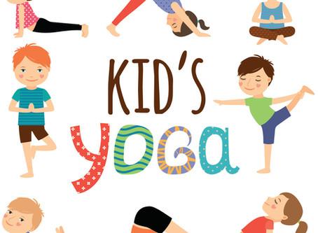 Kids Yoga returns to Leigh Community Centre. By Nina Barnard.