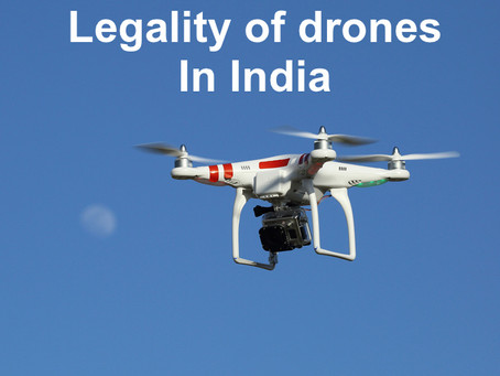 Laws regulating drones in India