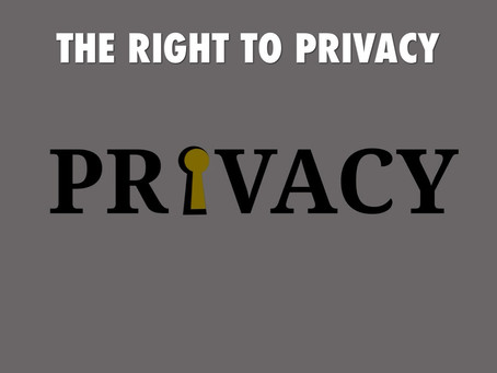 RIGHT TO PRIVACY IN INDIA – A MYTH OR DOES IT REALLY EXIST