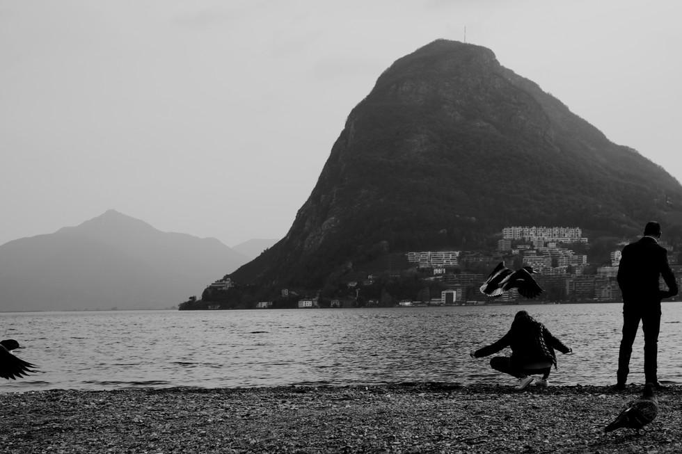 Lugano, The Lake