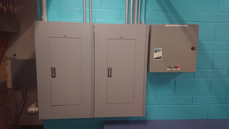 Panels A1/A2 - After (in new location)