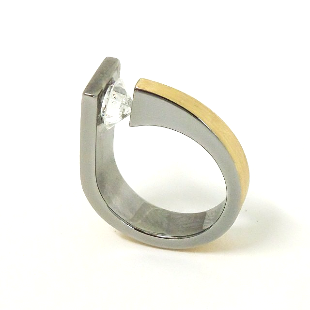 Solitaire Competition Ring