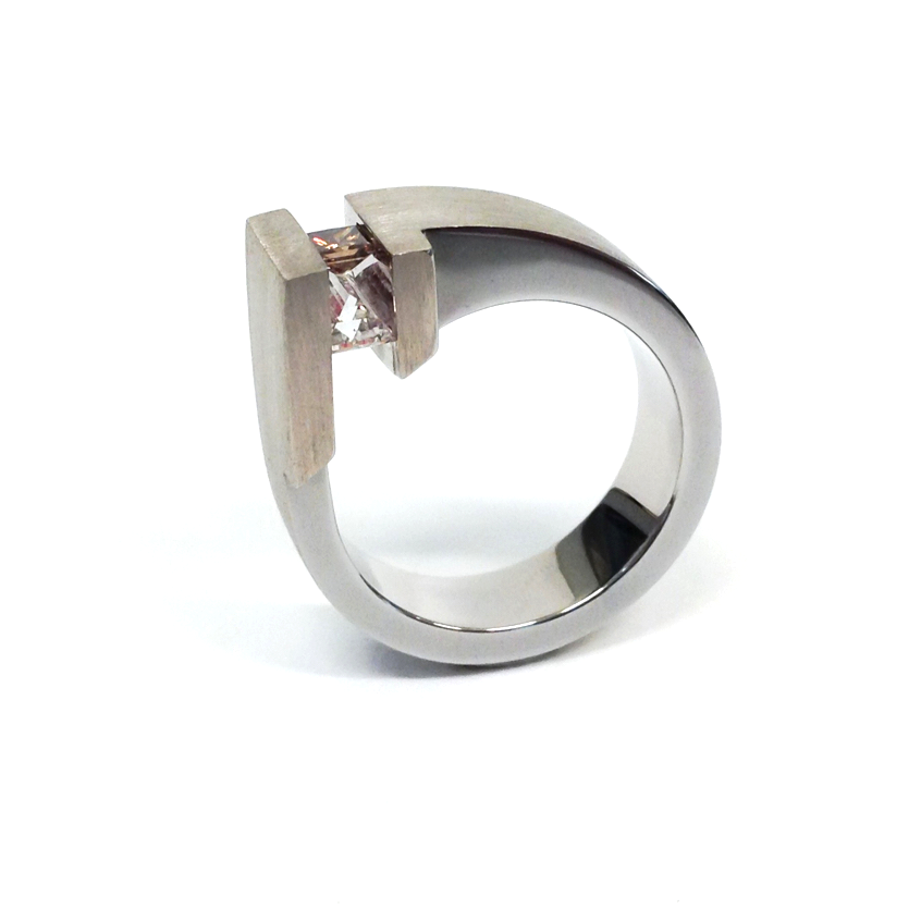 18ct White Gold Competition Ring