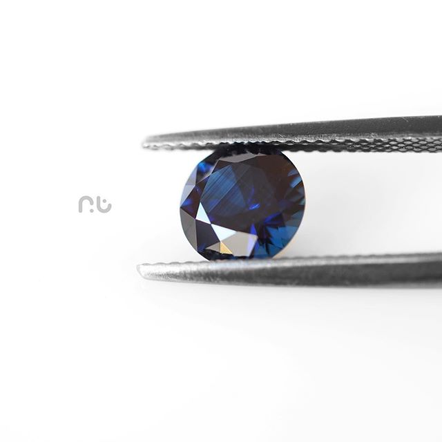 Unbelievable colour in this deep Blue Australian Sapphire, at just under 2cts it's a hard one to mis
