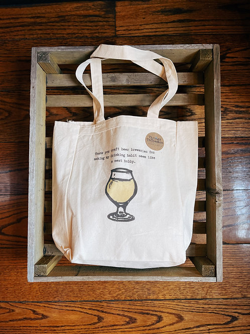 Thank You Craft Beer Tote Bag