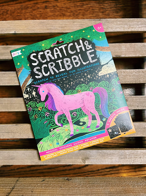 Scratch and Scribble- Magical Unicorns