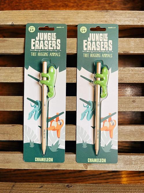 Chameleon Jungle Erasers