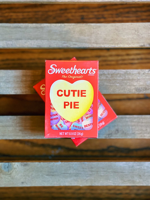 Sweetheart Conversation Hearts Candy