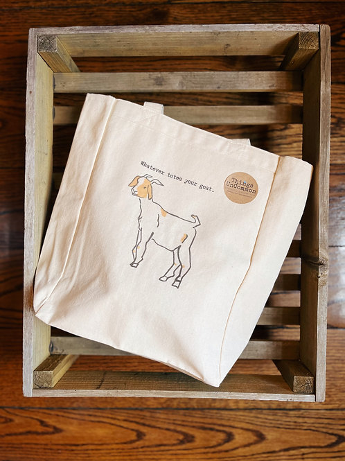 Whatever Totes Your Goats Tote Bag