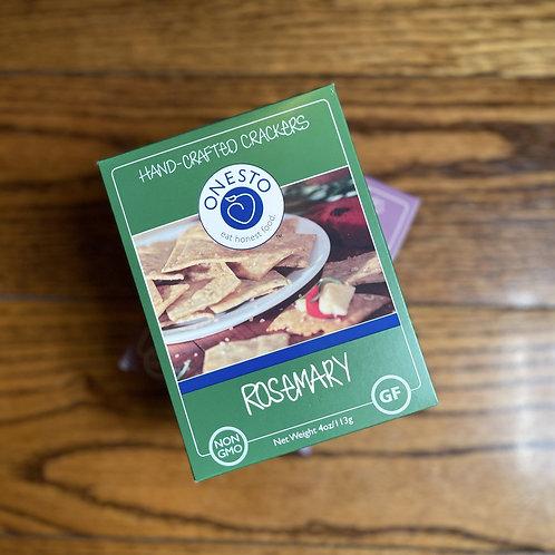 Onesto Rosemary Gluten Free Crackers