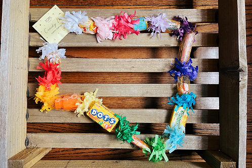 Happy Birthday Candy Lei