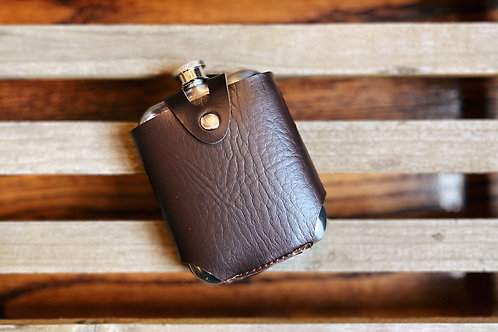 Admiral Stainless SteelFlask and Traveling Case