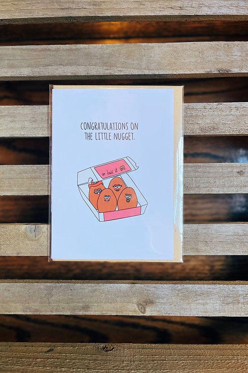 Congrats Nugget Card