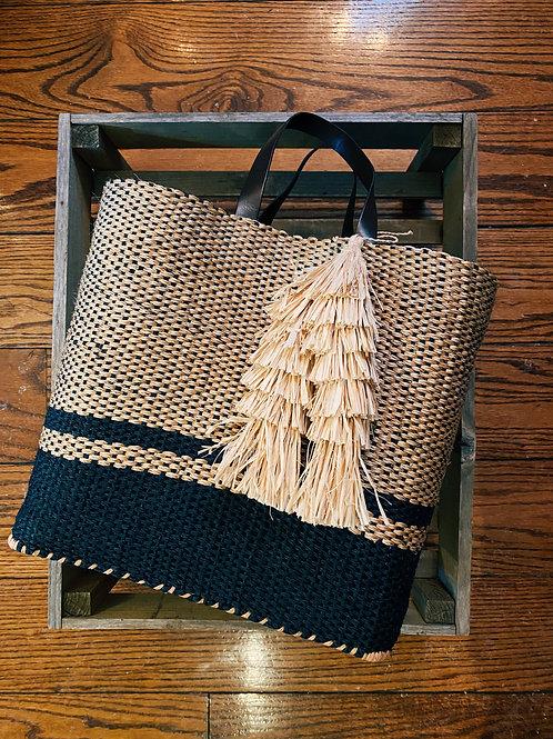 Nosy Bé Handwoven Tote Bag