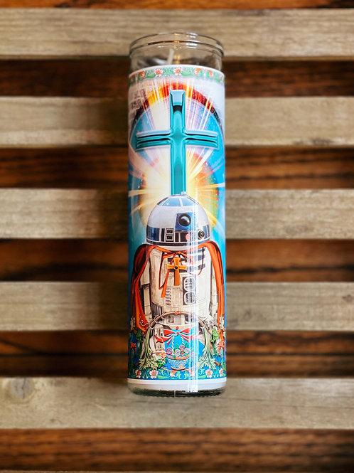 R2-D2- Celebrity Prayer Candle- Star Wars