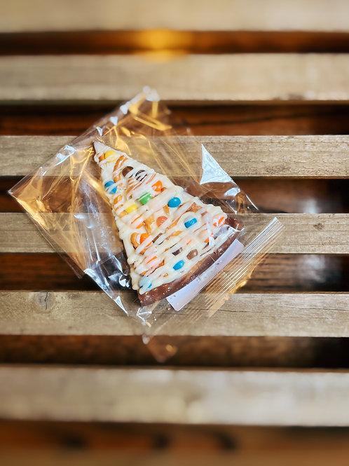 CB Stuffer Mini Chocolate Candy & Pretzel Pizza Slice