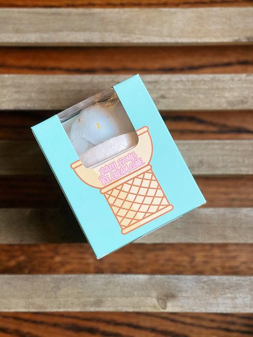 Ice Cream Bath Bomb