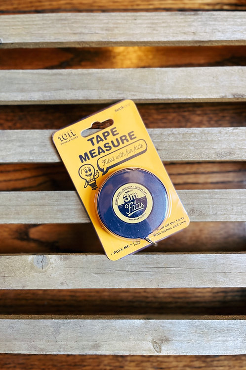 10 Foot Facts Tape Measure