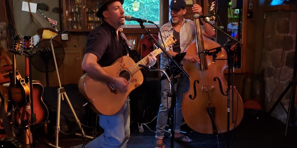 Live Music on the Patio With Bone Dry Duo