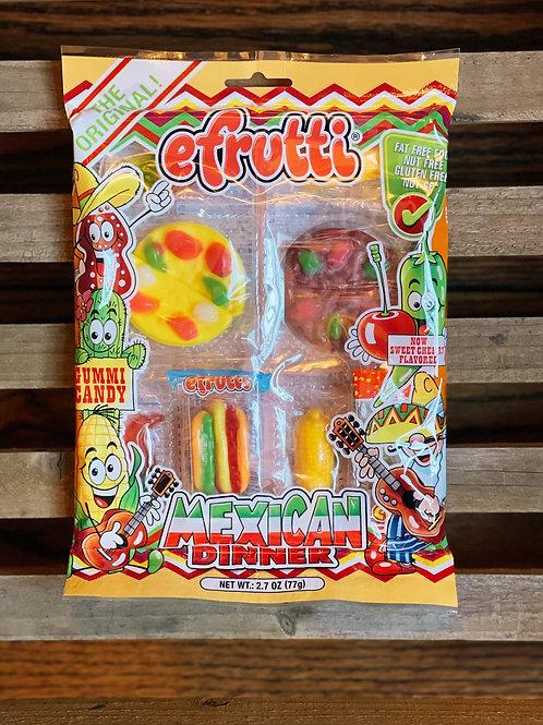 eFruitti Mexican Dinner Gummy Pack