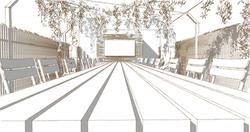 Elevation3D d'un projet à 4000 Liège