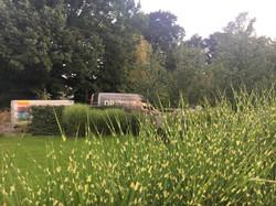 Jardin privé à Rosoux
