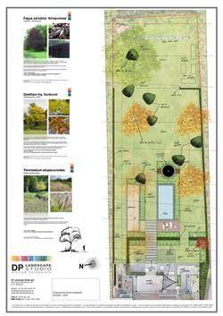 plan de jardin à Verlaine