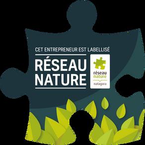 Entrepreneur labellisé réseau nature Natagora
