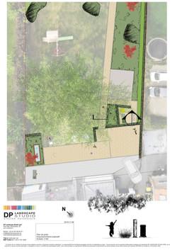 plan de jardin à Villers-le-bouillet