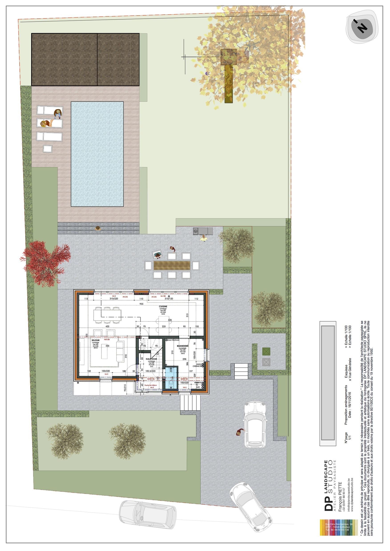 nouveau jardin a Ligney