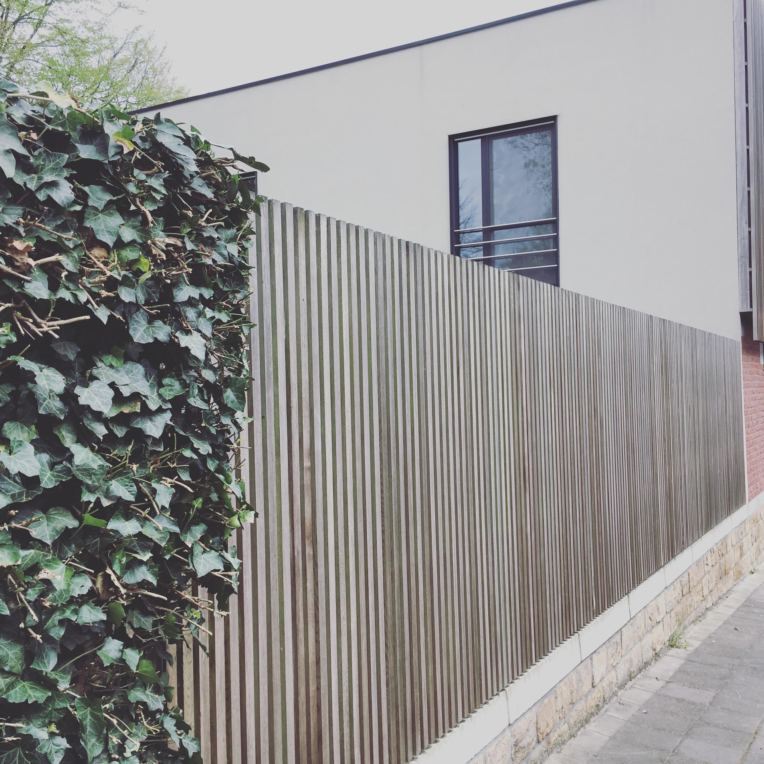 Jardin caché à Liège
