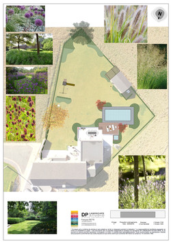Schéma de travail jardin Viemme