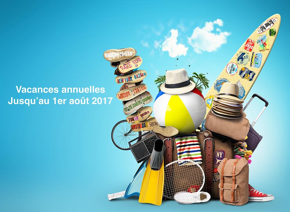 Vacances annuelles DP LANDSCAPE STUDIO