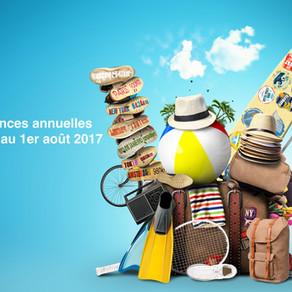 Vacances annuelles