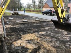 chantier de terrassement a waleffes