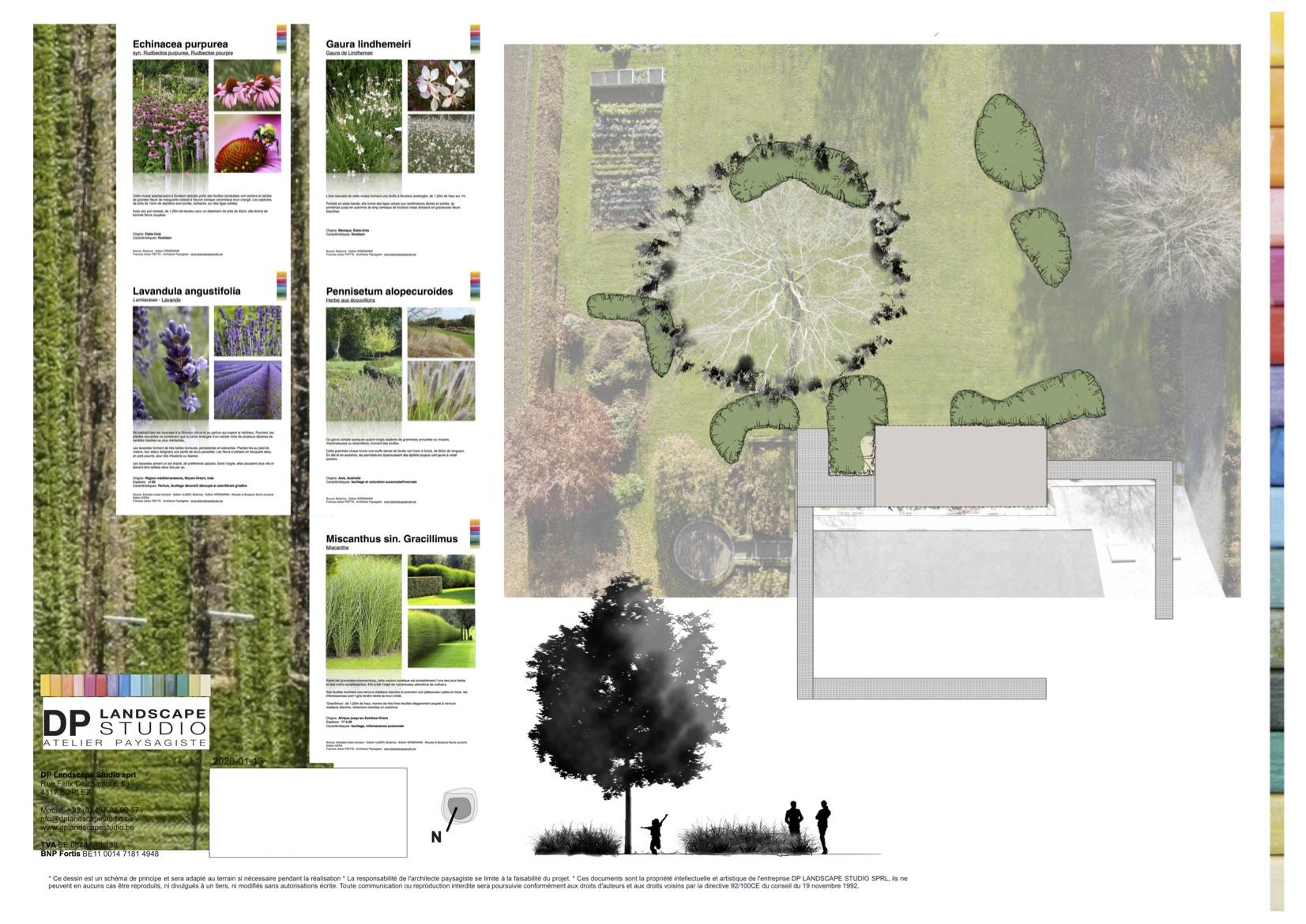 DP Landscape Studio francois piette architecte de jardins plan de jardins aménagements extérieurs fa