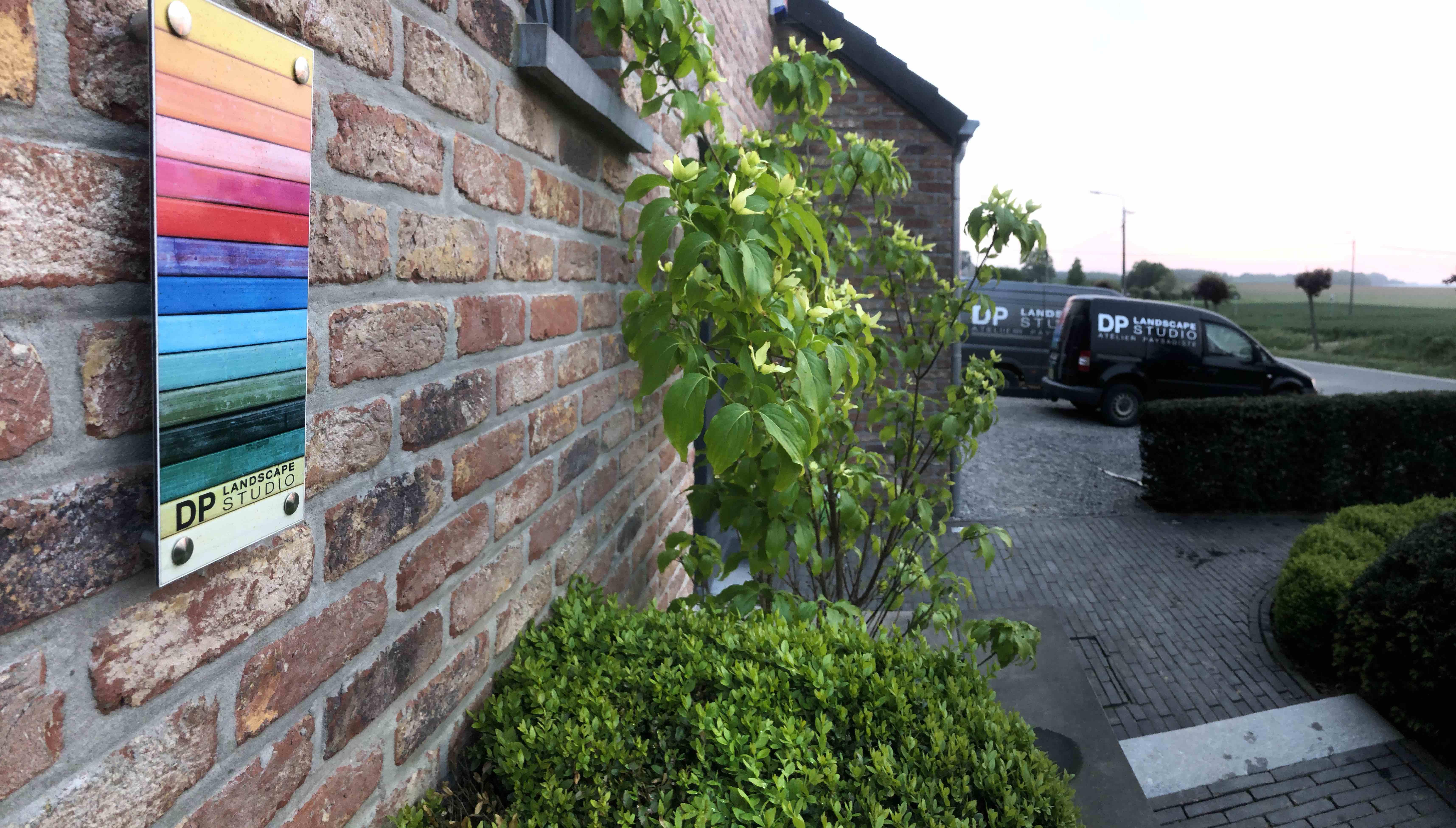 DP Landscape Studio francois piette architecte de jardin cornus kousa buxus